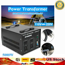 5000W Watt Step Up/Down Electric Power Voltage Converter Transformer 110V⇋220V