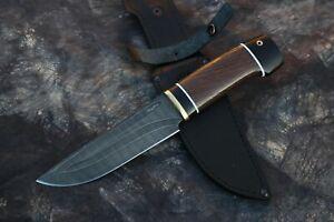 Nazarov Knives Russland Damastmesser Damaszener Damast stahl Jagdmesser  HRC-62