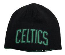 Boston Celtics NBA adidas Black Winter Fitted Cuffless Knit Beanie Hat Skull Cap