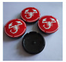 4 Pcs Wheel Center Caps 56mm For Abarth Badge Emblem Logo Rim Caps Scorpion