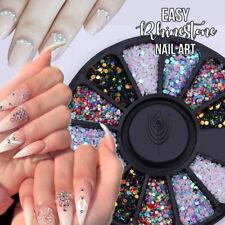 Mixed Color Chameleon 3D Nail Rhinestone Summer nail Art 2020 Nail Décor Weel