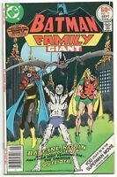 Batman Family 13 DC 1977 FN VF Batgirl Robin Batgirl Man-Bat Jim Aparo