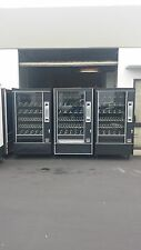 3-A P Snack Vending Machines Automatic Products 7600 Glass Front Vending Machine