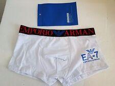 Men's Emporio Armani White/black underwear trunk  boxer size XL