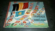 Album Images chromos - DRAPEAUX et TIMBRES-POSTE - GEHR FRERES.