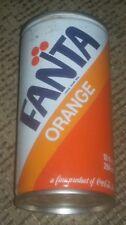 Fanta Orange 10oz Can Toronto Canada Coca Cola company Pull Tab top SODA POP old