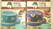 New listing Cake Boss Flower Cake Kit, Winter Cake Kit 1 Decorating Kit Each
