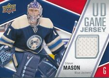 2011/12 Upper Deck Series I GP-SM Steve Mason UD Game Jersey Insert