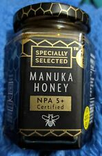 Manuka Honey Natural 100% Pure Authentic New Zealand NPA 5+ 225g