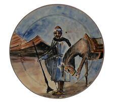 Handmade Moroccan Ceramic Decorative Plates & Bowls for sale