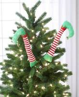 SET OF 2 ELF LEGS Christmas Tree Ornament Decoration  **TOO CUTE** NEW