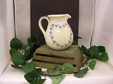 New listing Warm Country Style Pitcher with Hearts signed by artist