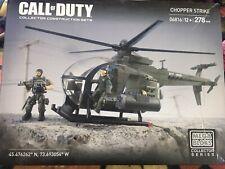 Call Of Duty Chopper Strike Mega Bloks Collectors Series 06816 - 12+ - 278 pcs