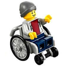 NEW LEGO BOY in WHEELCHAIR from 60134 fun in the park handicap minifig figure