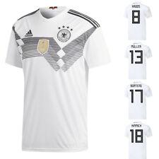 adidas DFB Home Deutschland Heimtrikot weiß WM 2018 auch mit Flock