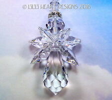 m/w Swarovski *Crystal Clear Angel* Car Charm SunCatcher Lilli Heart Designs