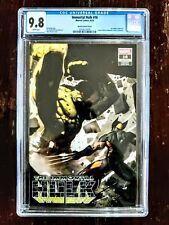 Immortal Hulk #16 CGC 9.8 Hulk vs Wolverine Variant