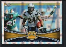 RYAN MATHEWS 2012 TOPPS CHROME #117 XFRACTOR CHARGERS SP