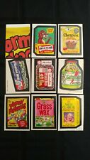 1973 Wacky Packages 4th Series Complete Set Of 30 Stickers
