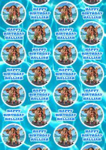 MOANA Personalised Gift Wrap - Disney's Moana Wrapping Paper