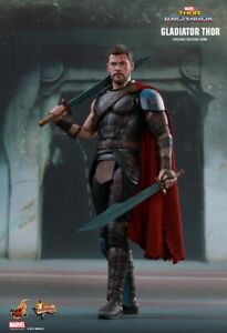 THOR: Ragnarok - Gladiator Thor 1/6th Scale Action Figure MMS444 (Hot Toys) #NEW