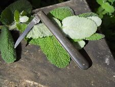 Ancien couteau taille plume marquer T.D fin XIXème