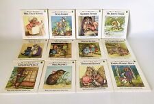 Beatrix Potter Readers Book Set Leap Frog Lot of 12 1991 My Little Book About