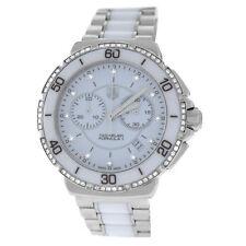 Ladies Tag Heuer Formula 1 CAH1213.BA0863 Steel Ceramic Diamond Quartz Watch