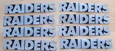 Oakland Raiders no sew iron on appliques 8 raiders