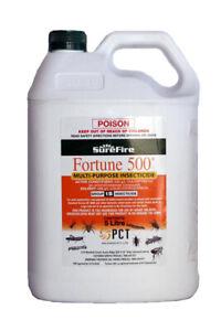 Fortune 500 5lt Insecticide & Termiticide. Chlorpyrifos 500g/l. Lorsban equiv