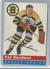 1954-55 Topps Hockey Cal Gardner Card # 47 Excellent Condition
