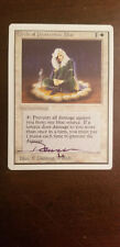 COP: Blue  Unlimited Ed Signed by Dameon Willich Magic the Gathering