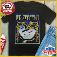 FREESHIP Led Zeppelin vintage Tour T-Shirt 1977 United States Concert T Shirt