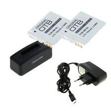 Batería 2x para Canon nb-6l y USB Cargador para digital 85 is/95 is/105/