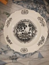Wedgwood The Governor's Palace Collector Plate Vintg Williamsburg Virginia 1953