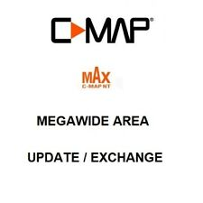C-MAP Max megawide Chart Update/Exchange sur MSD-format Carte Avec SD Adaptateur