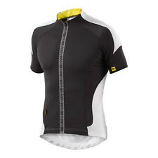 Maillot Homme Manches Courtes MAVIC 2015 Cosmic Pro Jersey Noir Blanc S -49%