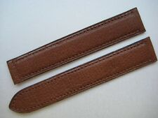 GENUINE CARTIER WATCH STRAP BAND TOBACCO BROWN CALF SKIN LEATHER 16 x 16 mm NEW