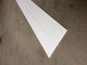 UPVC White Flexi Angle Trim 50mm x 50mm 5 Metre Flexible Plastic Corner Beading