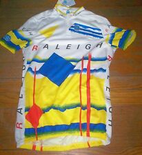 "NOS SEB RALEIGH CYCLING JERSEY SIZE M 34"" CHEST"