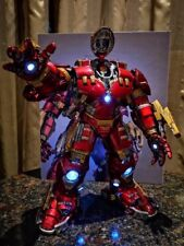 NEW Comicave 1/12 Scale Iron Man MK44 Action Figure Alloy Led Hulkbuster Model