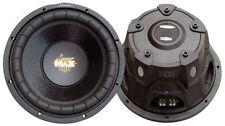 New Lanzar MAXP64 Max Pro 6.5'' 600 Watt Small Enclosure 4 Ohm Subwoofer