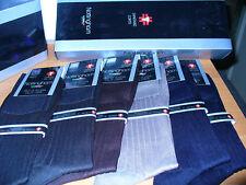 6 paia calza corta sanitaria NOTTINGHAM canaletto filo scozia Tg 42/44 colorati