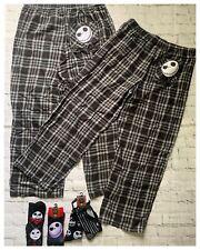 6pc Disney Nightmare Before Christmas Jack Skellington Lounging L XL Pants Socks