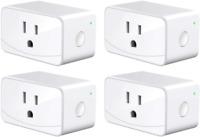 meross Smart Plug Mini WiFi Outlet 16A, Compatiable with Alexa, Google Assistant