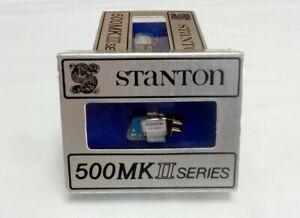 Stanton 500 MKII Cartridge + Genuine 500A MKII Stylus New In Box