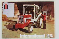 prospectus brochure tracteur Gamme ih international 1974 cormick tractor traktor