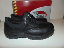Avenger Men's Oxford Work Shoes - Composite Toe A7113W Size 9W 9 Wide NEW
