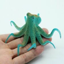 Fluorescent Artificial Octopus Aquarium Decoration Ornament Fish Tank Decorative