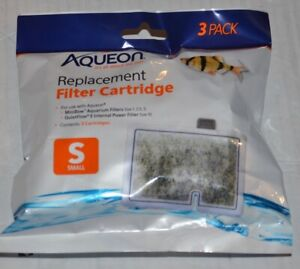 Aqueon Small Replacement Filter Cartridge 3 count 100106076